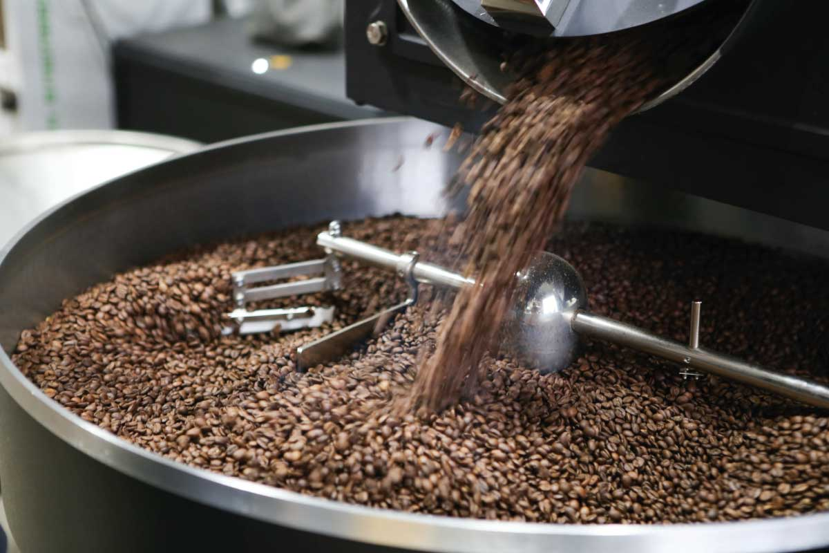 Kaffeeröstung mit Holz